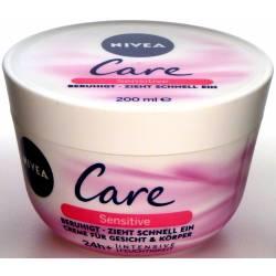 Nivea Care Sensitive Gesicht & Körper Creme