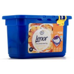 Lenor 3in1 Pods Seidene Orchidee Vollwaschmittel