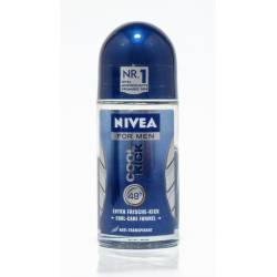 Nivea For Men Cool Kick Roll-On Antiperspirant